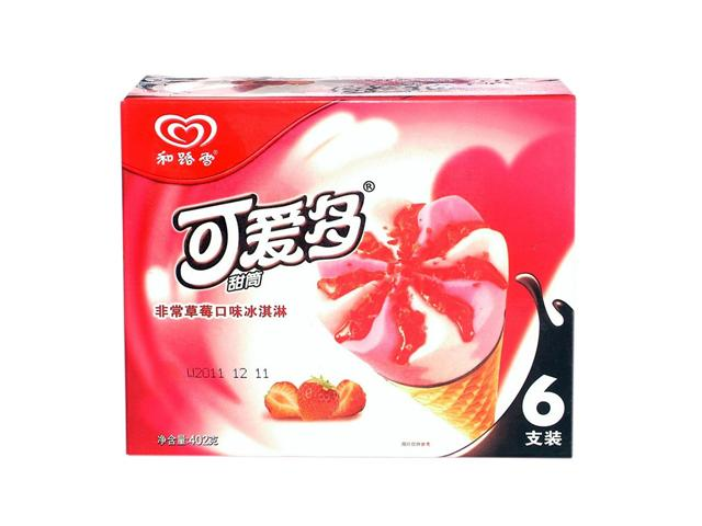 可爱多(家庭装)草莓